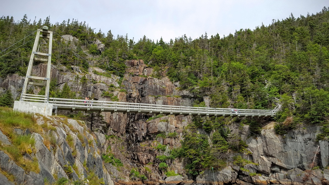 La Manche Suspension Bridge